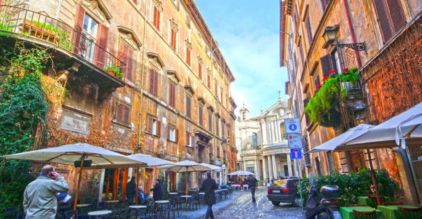 Traslocare in centro storico