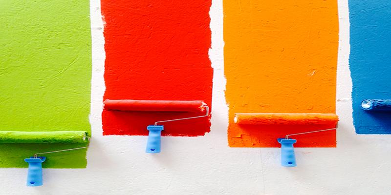 Traslochi Castelfranco Veneto - colori tinteggiatura casa