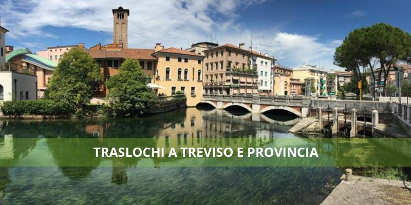 Trasloco economico a Treviso e provincia